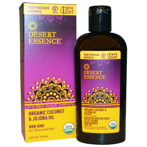 DESERT ESSENCE: Organic Coconut & Jojoba Oil 4 oz