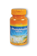 Thompson Nutritional: L-Phenylalanine 500mg 30ct 500mg