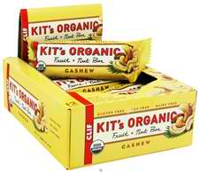 CLIF BAR INC: KIT'S ORGANIC CASHEW 12/BX