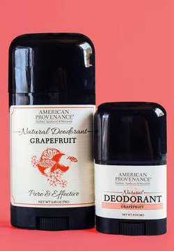 AMERICAN PROVENANCE: Grapefruit Deodorant 2.65 OZ