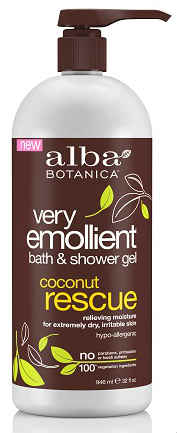 Coconut Rescue Bath & Shower Gel 32 oz from ALBA BOTANICA