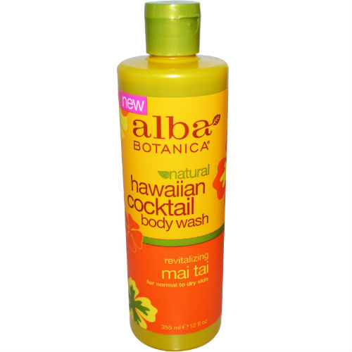 ALBA BOTANICA: Alba Hawaiian Revitalizing Mai Tai Cocktail Body Wash 12 oz