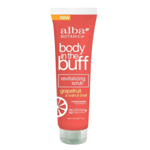 Body In The Buff Revitalizing Grapefruit & Walnut Shell Scrub