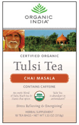 TULSI CHAIMA SALA 18BAGS from ORGANIC INDIA