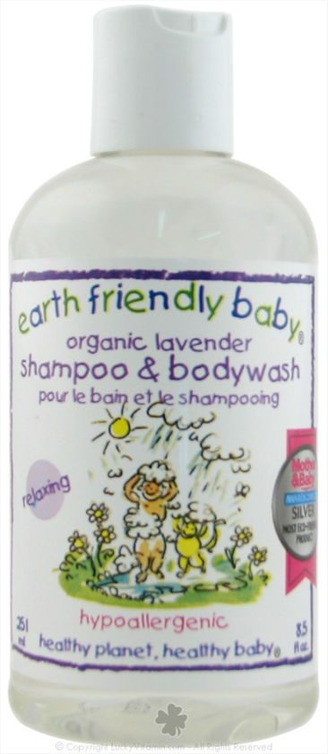 EARTH FRIENDLY BABY PRODUCTS: Organic Lavender Shampoo And Bodywash 8.5 oz