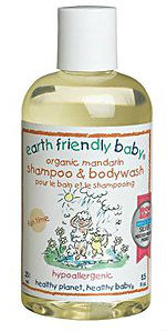 EARTH FRIENDLY BABY PRODUCTS: Organic Mandarin Shampoo And Bodywash 8.5 oz