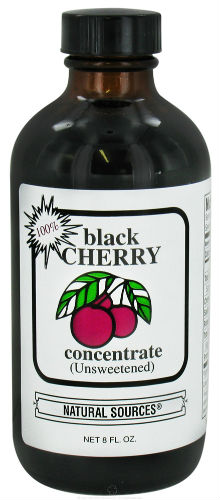 Natural Sources: 100 Percent Black Cherry Concentrate 8 oz