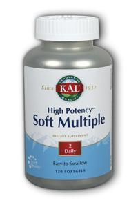 Kal: High Potency Soft Multiple 120ct