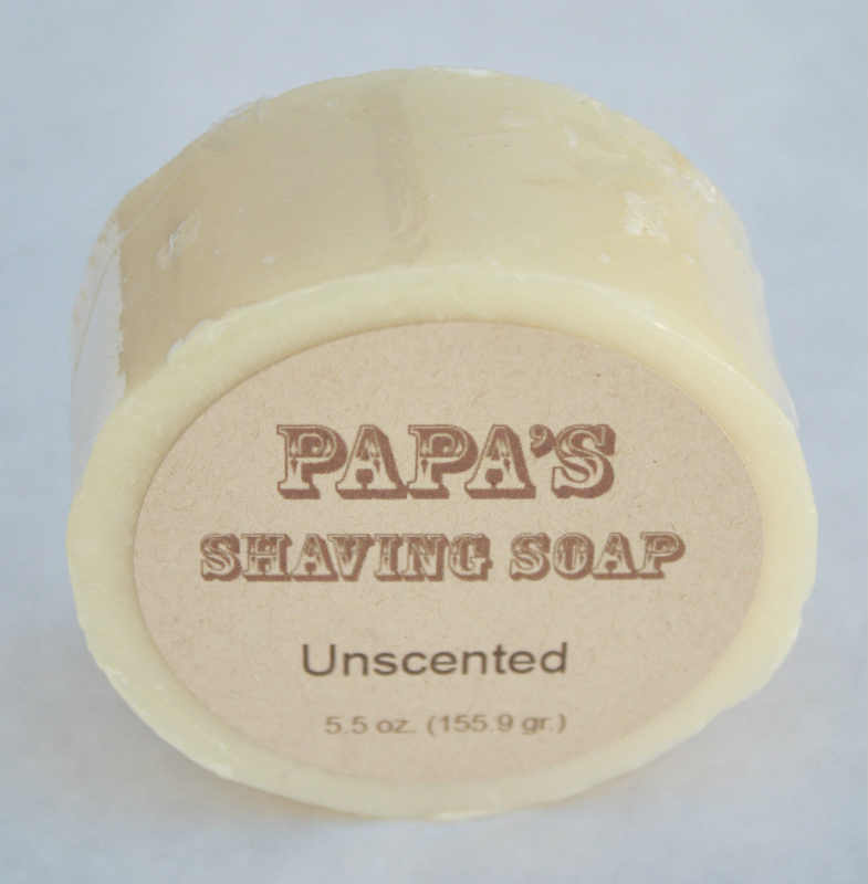 GRANDMA'S PURE & NATURAL: Papa's Shave Bar Unscented 5.4 oz