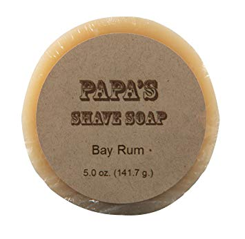 GRANDMA'S PURE & NATURAL: Papa's Shave Bar Bay Rum 5.4 oz
