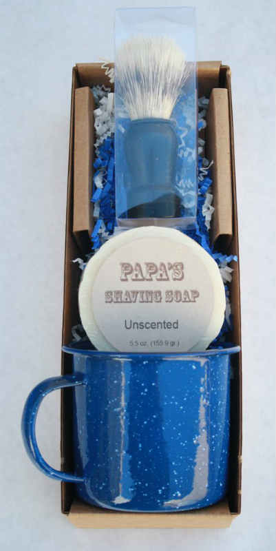 GRANDMA'S PURE & NATURAL: Papa's Shave Kit Bay Rum 3 pc