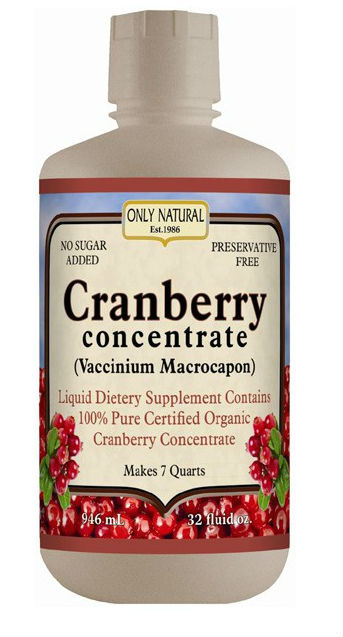 Cranberry Concentrate (Organic), 32 oz