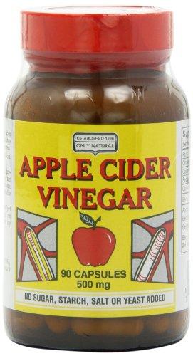 apple cider vinegar 500mg capsules