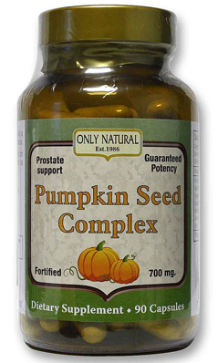 Pumpkin Seed Complex 90 cap from ONLY NATURAL