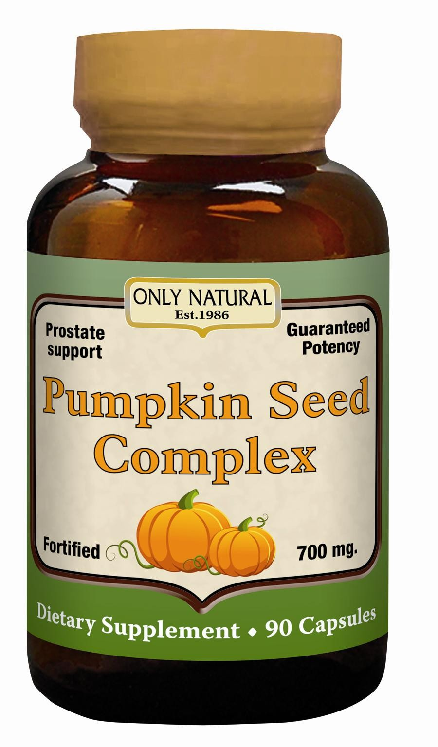 ONLY NATURAL: Pumpkin Seed Oil 90 softgel