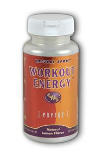 Natural Sport: Workout Energy FizzActiv Lemon Flavor 30ct