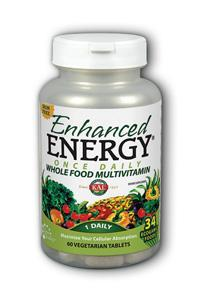 Kal: Enhanced Energy Once Daily Iron Free 60ct
