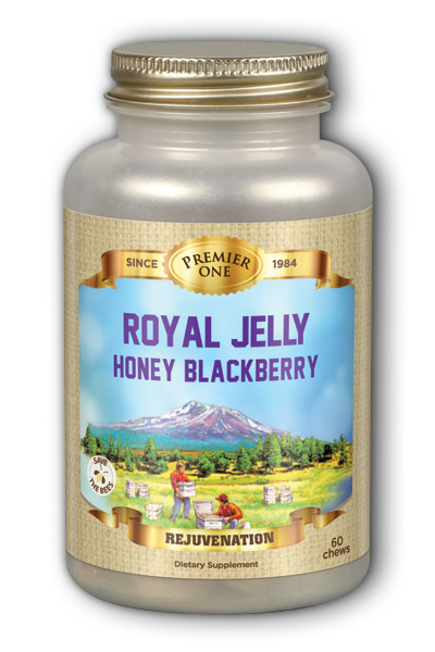 Royal Jelly Honey Blackberry Chewable Dietary Supplement