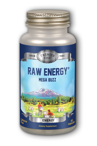 Premier One: Mega Buzz Raw Energy 60 Cap