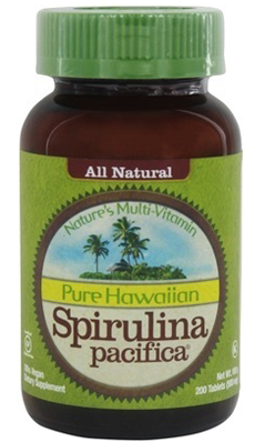 Hawaiian Spirulina Pacifica 500mg, 200 tabs