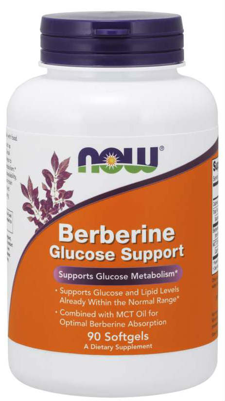 NOW: Berberine Glucose Support 90 Softgels