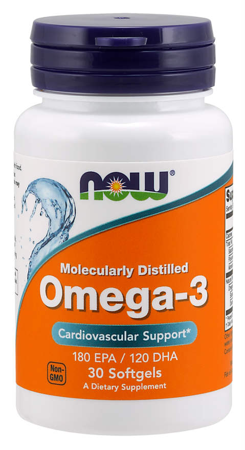 Omega-3 1000mg, 30 softgels
