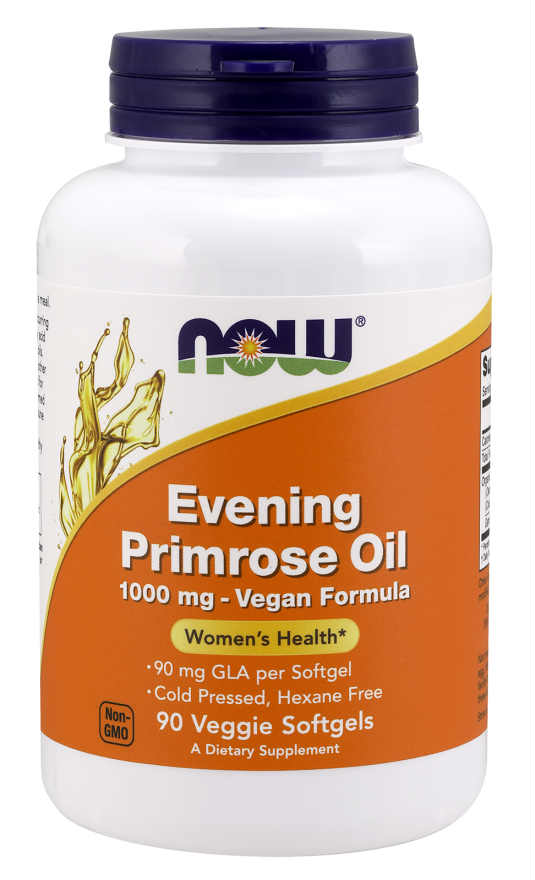 NOW: Evening Primrose Oil 1000mg 90 Veg Gels