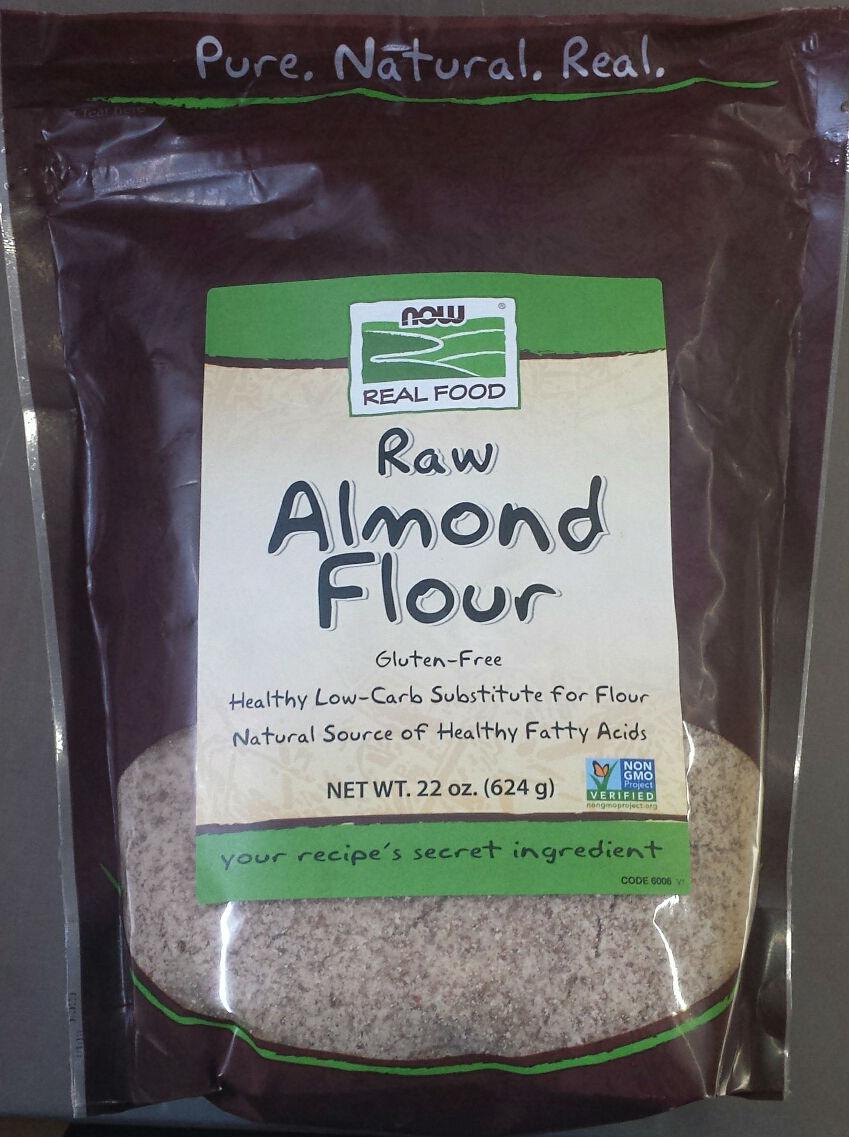 NOW: Raw Almond Flour 22 oz
