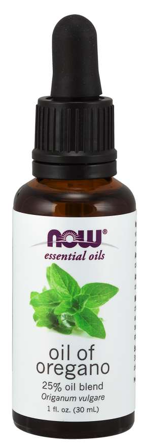 NOW: OIL OF OREGANO 25%   1 OZ 1