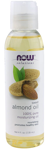 NOW: ALMOND OIL SWEET 4 OZ 4 oz