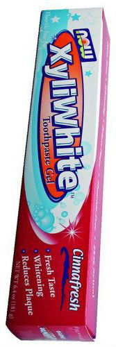 NOW: XyliWhite Cinnafresh Toothpaste Gel 6.4 oz.