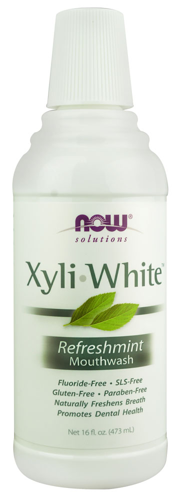 XyliWhite Mouthwash, 16 oz. - peppermint