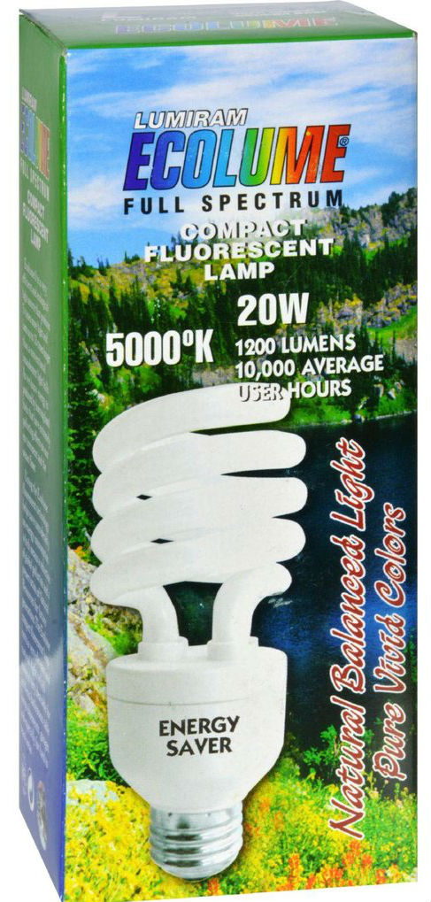 Light Bulb Ecolume 20W SP 5000K