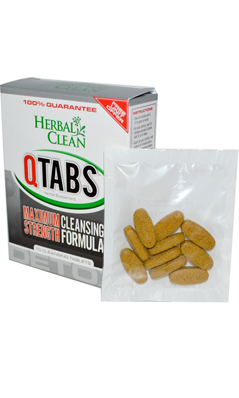 HERBAL CLEAN DETOX: Quick Tabs (1 Hour) 10 Tab