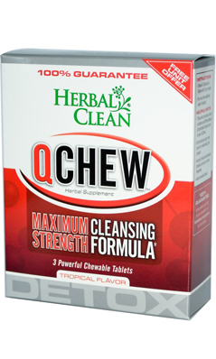 HERBAL CLEAN DETOX: Quick Chew Tropical 2 Tabs