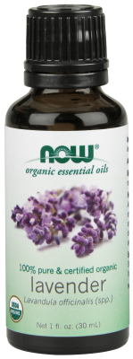 NOW: LAVENDER OIL ORGANIC  1 OZ 1