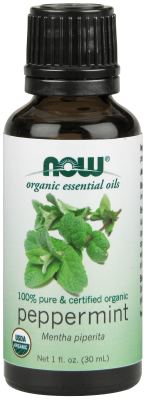 NOW: PEPPERMINT OIL ORGANIC  1 OZ 1