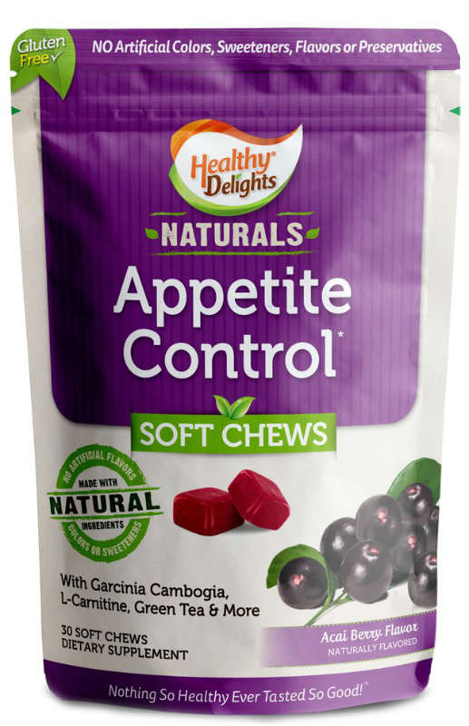 HEALTHY DELIGHTS: Healthy Delight Natural Appetite Control 30 chew