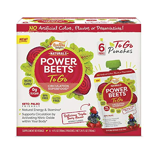 Healthy Delight Power Beets RTE 4 OZ