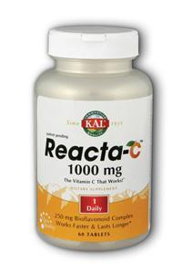 KAL: Reacta-C 1000mg with Bioflavonoids 60 Tabs