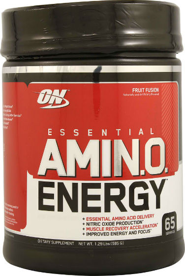 OPTIMUM NUTRITION: AMINO ENERGY FRUIT FUSION 65/SRV