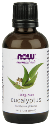NOW: Eucalyptus Essential Oil 2 fl oz