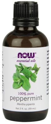 NOW: Peppermint Essential Oil 2 fl oz