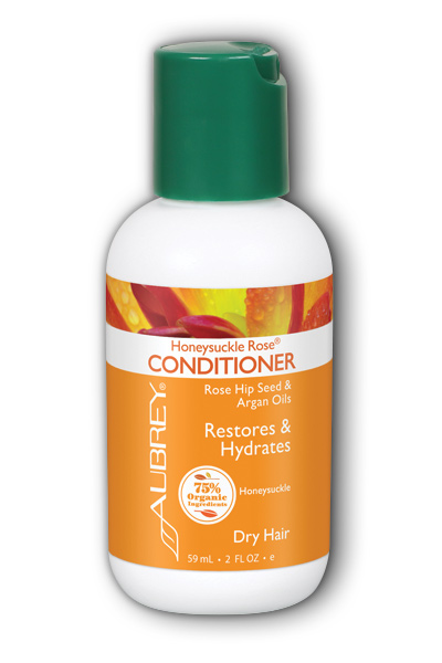 Aubrey Organics: Honeysuckle Rose Conditioner Travel 2 oz