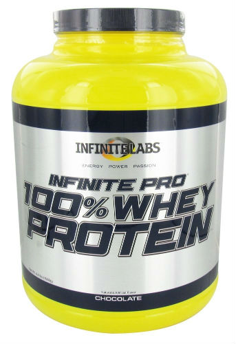 INFINITE LABS: INFINITE PRO 100% WHEY CHOCOLATE 4 LBS