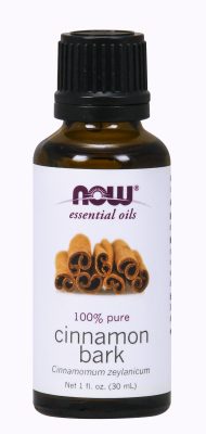 NOW: CINNAMON BARK OIL  1 OZ 1 OZ