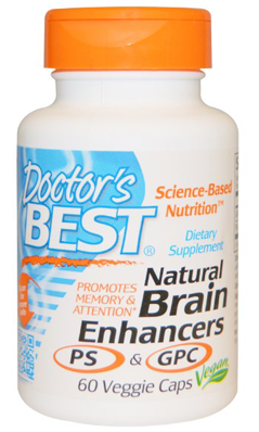 Doctors Best: Natural Brain Enhancers 60VC