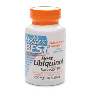 Best Ubiquinol 200 mg, 30 SOFTGELS