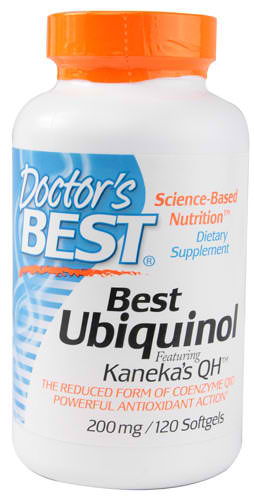 Doctors Best: Best Ubiquinol 200 mg 120 SOFTGELS
