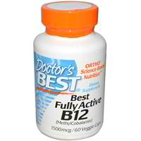 Doctors Best: Best Fully Active B12 1500mcg 60 VC